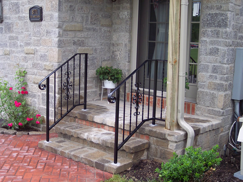 Standard Aluminum Railing Systems Old Dutchman S Wrought Iron