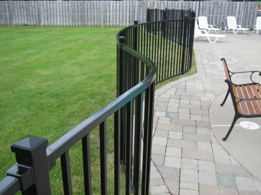 Unlike Many Pre Manufactured Fencing On The Market Today Old Dutchman S Wrought Iron Inc Can Custom Bend Our Aluminum To Follow Almost Any Curved